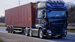 AW74125 (18.03.19, Motorvej 501, Viby J)DSC_3783_Balancer (Lav Ulv) Tags: kjær´stransportvjankristensen kjærstransport jankjærkristensen mejlby black daf dafxf xfeuro6 xf510 2016 e6 euro6 6x2 container driverøffe truck truckphoto truckspotter traffic trafik verkehr cabover street road strasse vej commercialvehicles erhvervskøretøjer danmark denmark dänemark danishhauliers danskefirmaer danskevognmænd vehicle køretøj aarhus lkw lastbil lastvogn camion vehicule coe danemark danimarca lorry autocarra motorway autobahn motorvej vibyj highway hiway autostrada trækker hauler zugmaschine tractorunit tractor artic articulated semi sattelzug auflieger trailer sattelschlepper