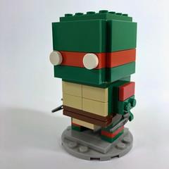 Raphael Ninja Turtle BrickHeadz (Pellaeon) Tags: lego brickheadz cartoon