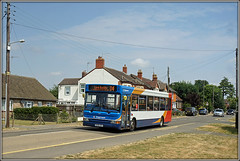 MORE Bad Luck at Buckby. (Jason 87030) Tags: dart dennis pointer slf stationroad ashmore longbuckby daventry roadside shot telegraph poles houses scene uk weather july 2018 35184 kx56kgv stagecoach buses photo photos pic pics socialenvy pleaseforgiveme picture pictures snapshot art beautiful picoftheday photooftheday color allshots exposure composition focus capture moment