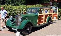 Rolls-Royce 25/30 Shooting Break 1936 (XBXG) Tags: rollsroyce 2530 shooting break 1936 rolls royce rr woody stationcar stationwagen station wagon kombi estate green vert concours délégance 2018 paleis het loo apeldoorn nederland holland netherlands paysbas vintage old classic british car auto automobile voiture ancienne anglaise brits uk vehicle outdoor 9854us richard overmeer