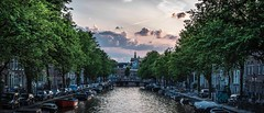 A summer evening in Amsterdam (Edith Frieling) Tags: netherlands canals city summer amsterdam