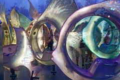 sea fantasy (albyn.davis) Tags: manhattan nyc newyorkcity colorful colors vivid vibrant light carousel abstract shapes hdr shiny