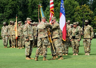 Col. Gentry Relinquishes Command