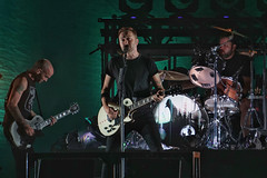 """Full disclosure: We do not play the blues..."" Rise Against at Ottawa Bluesfest 2018 (beyondhue) Tags: rise against ottawa bluesfest beyondhue concert music punk 2018 rock stage vocalistrhythm guitarist tim mcilrath performance drums guitar"