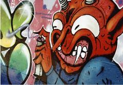 devil (fabio.mattutino) Tags: strett art graffiti murales torino turin italy parco dora kamel karim thoughts devil latinos octopus silver surfer hands picture color wall paint spray leitz 50mm