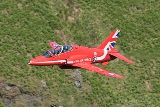 XX242  Hawk T1  RAF  Red Arrows