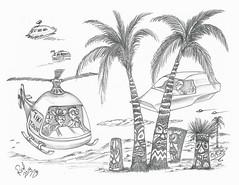Oasis (rod1691) Tags: myart art sketchbook bw scfi grey concept custom car retro space hotrod drawing pencil h2 hb original story fantasy funny tale automotive illustration greyscale moonpies sketch sexy voodoo