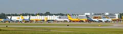 CVG panorama 1 (chrisjake1) Tags: cvg kcvg cincinnati covington cargo dhl amazon primeair 767300 freighter