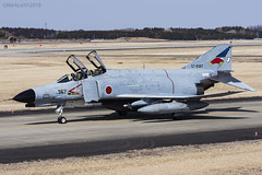 Japan Air Self Defence Force, McDonnell Douglas F-4EJ Kai Phantom II, 57-8367. (M. Leith Photography) Tags: mark leith photography japan japanese self air defence force jasdf mcdonnell douglas phantom f4 ibaraki hyakuri sunshine base fighter nikon d7000 d7200 70200vrii 300mmf4 nikkor asia flying military sky building airplane aircraft cockpit jet