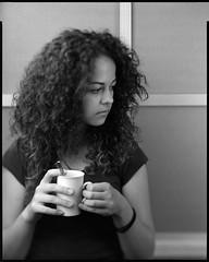 "Emese - 2018 - 02. (sirolajos) Tags: ""8x10 burke james"" fujinonw300mmf56 8x10 bw fomapan400 film ""d76 11gossenspotmasterjobocpe2epson perfection 4990 photoself developmentanalogueanalogblackwhitenoir et blanc closer details lights shades ""large format"" portrait"
