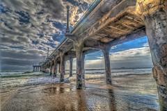 Pier with Clouds (Michael F. Nyiri) Tags: manhattanbeach manhattanbeachpier sunset ocean california southerncalifornia
