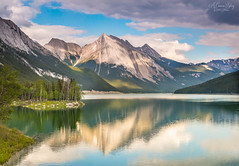 Happy Canada Day (A Camera Story) Tags: jasper canada jaspernationalpark nationalparks canadianrockies mountains lakes reflections medicinelake sonydslta99 sony2470mmf28cz