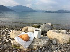 Frühstück, Zuger See