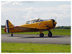 North American T-6G Texan (F-AZCV) (Aerofossile2012) Tags: northamerican t6g texan fazcv avion aircraft aviation meeting airshow avord 2016 ba702