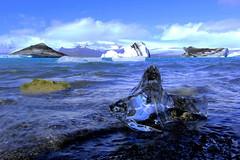 Jökulsárlón (ploh1) Tags: jökulsárlón iceland island eis schnee wasser gletscherlagune natur landschaft berge