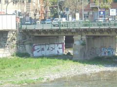 434 (en-ri) Tags: zolek bianco nero rosa genova zena wall muro graffiti writing