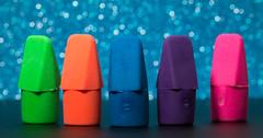 Erasers On Stage (gleavesm) Tags: erasers macromondays eraser macro