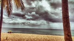 #guadeloupe (nathbuisson) Tags: antilles caraïbes clouds sea beach guadeloupe