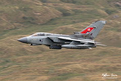 RAF Tornado GR4 ZA554 low level in Northern England (NDSD) Tags: low level panavia tornado gr4 cumbria yorkshire pennine pennines flying jet raf lake district plane aviation aircraft dales