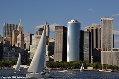 Sailing Away (Trish Mayo) Tags: sailboats sailing manhattanskyline openhousenewyork ohny