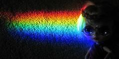 BaD 31 July 2019: Rainbow (jefalump) Tags: fauxblythe rainbow prism portrait letyourlightshinethrough atsh
