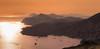Dalmation sundown (snowyturner) Tags: dubrovnik dalmatia sunset croatia mediterranean adriatic boats cliffs landscape panorama hills layers