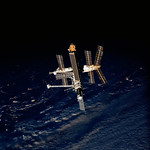 Following the Space Shuttle Atlantis - Russian Mir Space Station undocking activities. Original from NASA . Digitally enhanced by rawpixel. thumbnail