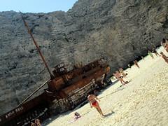 IMG_1108 (SyrianSindibad) Tags: greece zakynthos navagiobeach shipwreckbeach smugglerscove