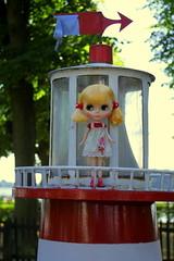 Light house (*blythe-berlin*) Tags: blythedoll stock stockblythe leuchtturm lighthouse playfulraindrops wolkje