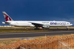 A7-BAB QR B77W 16R YSSY-0271 (A u s s i e P o m m) Tags: qatar qatarairways qr boeing b77w b777300er syd yssy sydneyairport