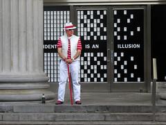 Identity Is An Illusion (Multielvi) Tags: new york city ny nyc manhattan union square man candid