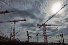 Construction (Thomas Mülchi) Tags: thecircle crane constructioncranes construction zurichairport kloten cantonofzurich switzerland 2018 zürich ch