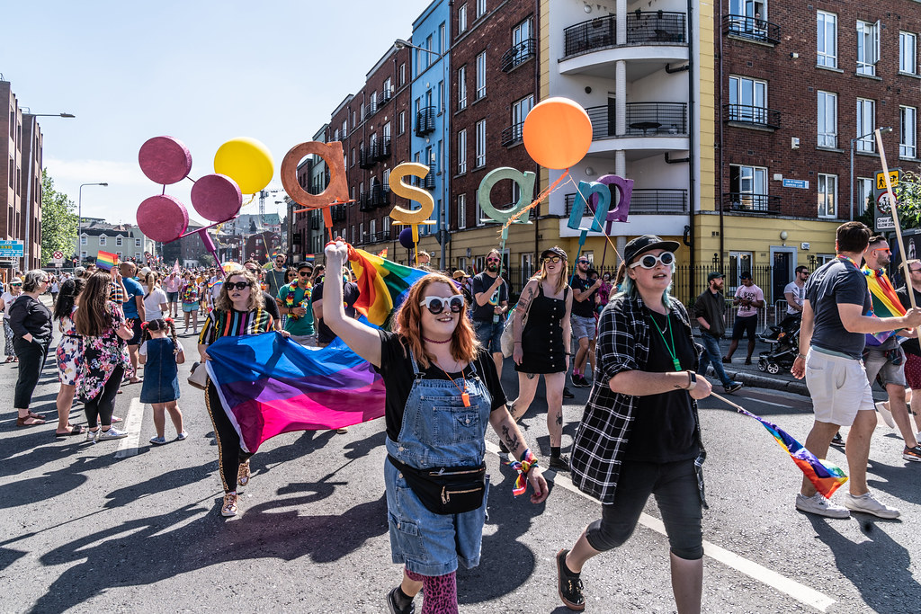 ABOUT SIXTY THOUSAND TOOK PART IN THE DUBLIN LGBTI+ PARADE TODAY[ SATURDAY 30 JUNE 2018] X-100019