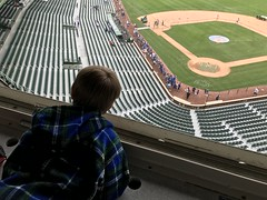 "Paul in the Wrigley Field Press Box • <a style=""font-size:0.8em;"" href=""http://www.flickr.com/photos/109120354@N07/29259199858/"" target=""_blank"">View on Flickr</a>"