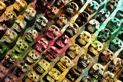 Death Wall (ingcuevas) Tags: skull wall stone art beautiful colorful colors wonderful creepy death dead vibrant light ancient rythm amazing