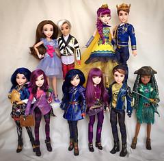 Together we can change the world (honeysuckle jasmine) Tags: jane ben audrey uma jay carlos evie mal princess collection doll descendants disney