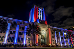 San Diego County Administration Building - 4th of July, 2018 - 3 (StarDude Astronomy) Tags: 4th july fireworks show san diego big bay boom county administration building government skyline sky rocketsr red glare fire city festive festivities sony alphy a7riii a7 42 megapixels celebration tom hams lighthouse photography patriot patriotism fourth explosion