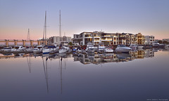 Glenelg marina (Devis Alberti) Tags: australia aussi sea sunrise glenelgmarina summer beachviews adelaide glenelg boats boat yacht yachts marina reflections blue beach