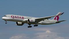 A7-ALA at Edinburgh (SubPigeon) Tags: aircraft a7ala a359 qatarairways a350 egph edinburghairport