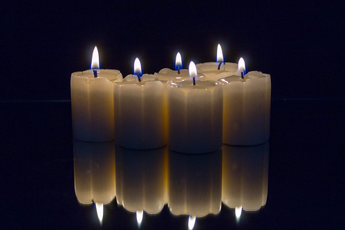 Candles On Mirror
