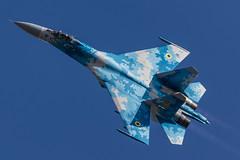 Flanker (Steve Cooke-SRAviation) Tags: canonstevecooke airplane aeroplane warplanes airshow riat sraviation redarrows totterdown jet riat2018 mig fairford display f16 2015 vulcan