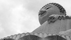 Big Buddha (Dawn in Phuket, Thailand) Tags: travel religion tourism thailand temple view culture monument statue phuket asia buddhism viewpoint buddha holiday landmark serene tour worship