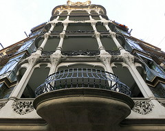 Looking up: Barcelona