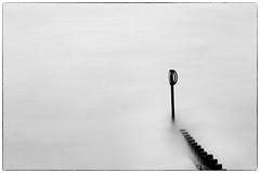 Armagideon Time (PeskyMesky) Tags: aberdeen aberdeenbeach longexposure water sea ocean negativespace groyne canon canoneos500d