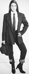 Chiara (bof352000) Tags: woman tie necktie suit shirt fashion businesswoman elegance class strict femme cravate costume chemise mode affaire