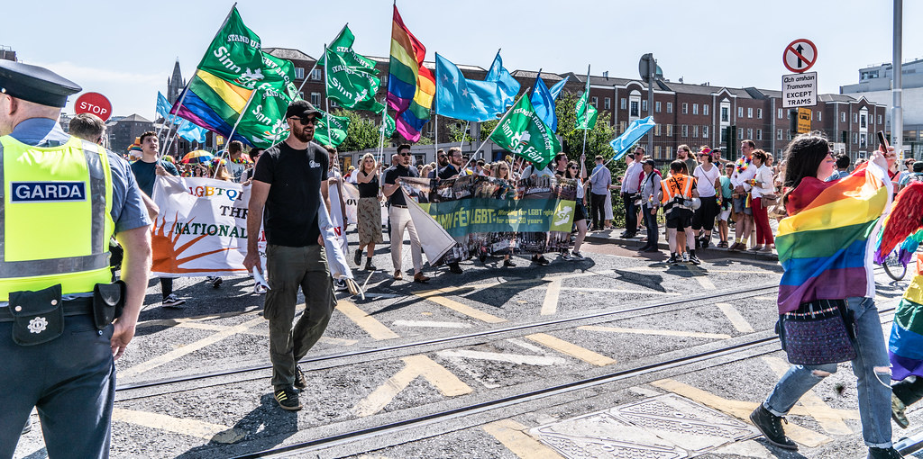 ABOUT SIXTY THOUSAND TOOK PART IN THE DUBLIN LGBTI+ PARADE TODAY[ SATURDAY 30 JUNE 2018] X-100086