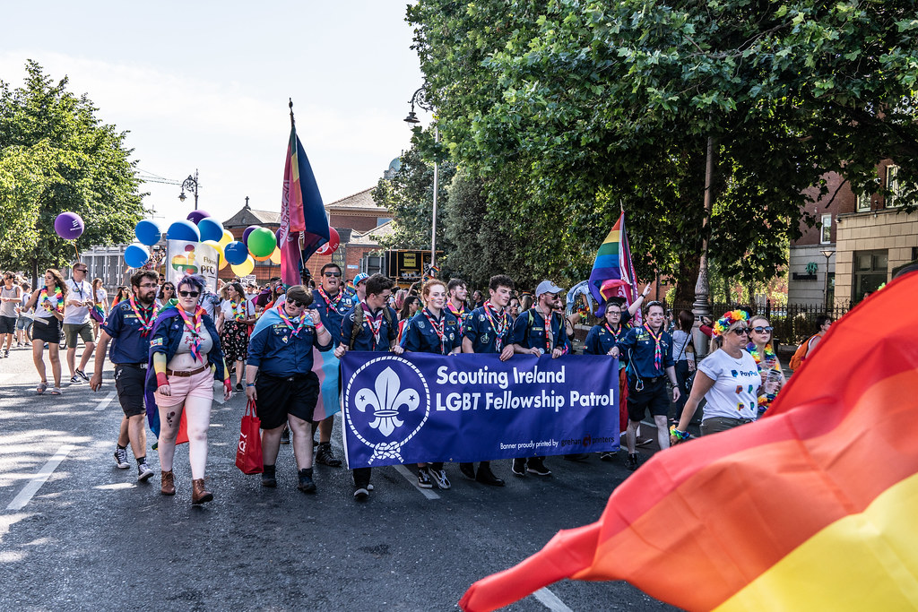ABOUT SIXTY THOUSAND TOOK PART IN THE DUBLIN LGBTI+ PARADE TODAY[ SATURDAY 30 JUNE 2018] X-100133