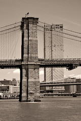 Wishing that new 800-ft. condo tower would go away. (sjnnyny) Tags: brooklynbridge eastriver nyc waterfront manhattan buildings elevatedroadway structure highrise stevenj sjnnyny d750 afsnikkor2485f3545gedvr touristsview city