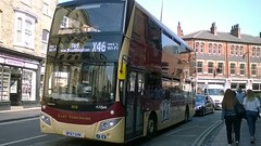 East Yorkshire 808 (BF67GHN) 19052018b (Rossendalian2013) Tags: eyms eastyorkshiremotorservices bus york volvo b5tl mcv evoseti bf67ghn