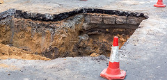 The Story of Jack and the Growing Sinkhole (a.k.a. Why You Should Disclose Everything) (We Buy Land Atlanta) Tags: house flipping guide wholesalers real estate investing tips